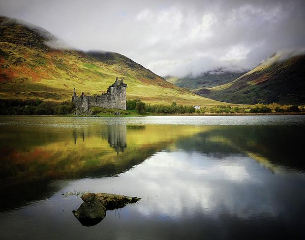 Horizontal Photograph - Kilchurn Castle Loch Awe by Kennethbarker