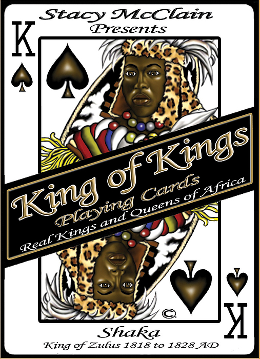 Playing Cards Digital Art - King Of Kings Playing Cards by Stacy V McClain
