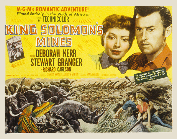 1950 Movies Photograph - King Solomons Mines, Deborah Kerr by Everett