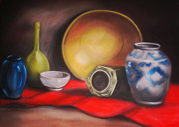 Still Life Painting - Kitchen Glory by Scott Easom
