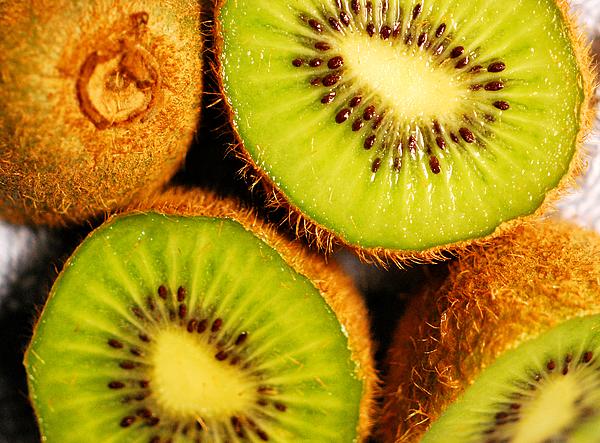 Kiwi Photograph - Kiwi Fruit by Nancy Mueller