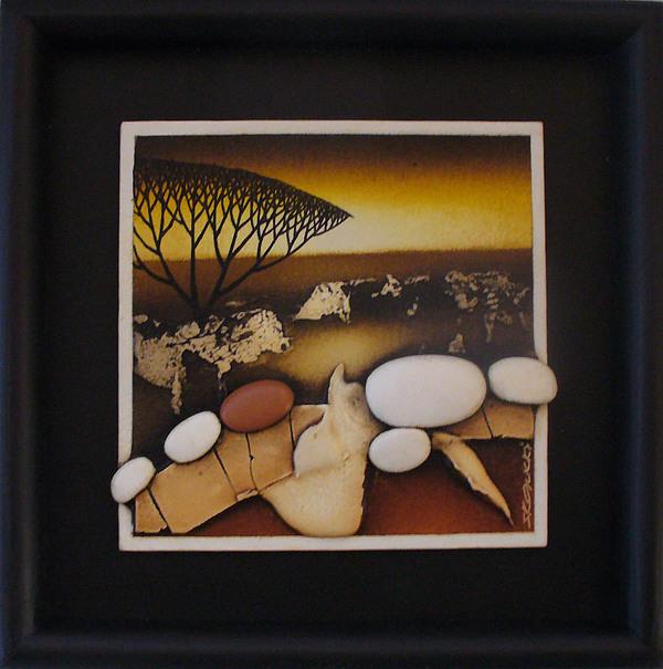 Oil Painting - Klidny Podzim by Jan Skalicky