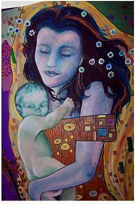 Klimt Painting - Klimt Study by Kaley LaRose