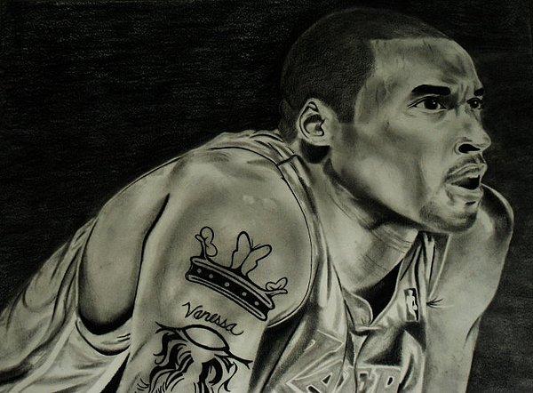 Kobe Bryant Drawing - Kobe Bryant by Calvin Clausell