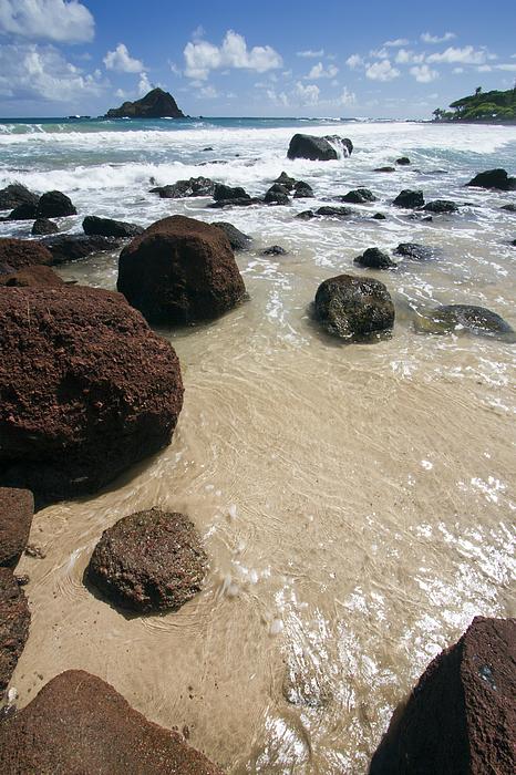 Beautiful Beach Photograph - Koki Beach Hana Maui Hawaii 2 by Dustin K Ryan
