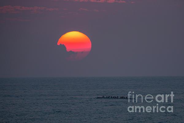 Digital Photograph - Kona Sunset 1 by Daniel Knighton