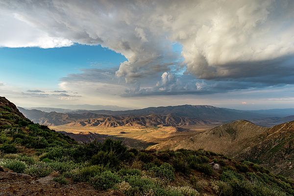 Anza Borrego Desert State Park Photograph - Kwaaymii Point Monsoon by TM Schultze