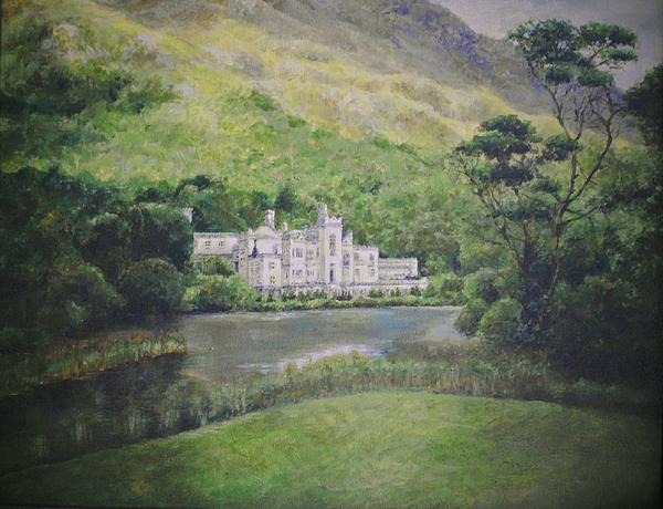 Ireland Painting - Kylemore Abbey by Cynthia Satton