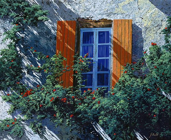 Wallscape Painting - La Finestra E Le Ombre by Guido Borelli