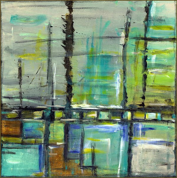 Marine Painting - la Marina by Julianne Richards
