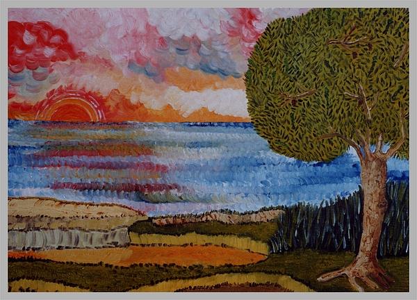 Seascape Painting - La Quiete by Carla Marino