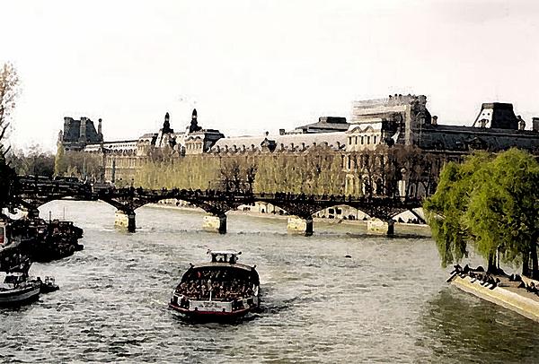 La Seine Photograph by John Bradburn