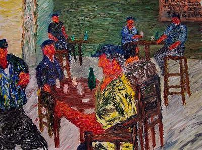 La Taverna Painting by Ira Stark