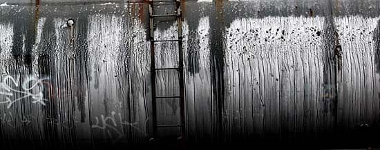 Trains Photograph - Ladder by Alastair  MacKay