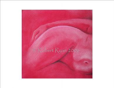 Anatomy Painting - Lady In Red by Robert Ryan