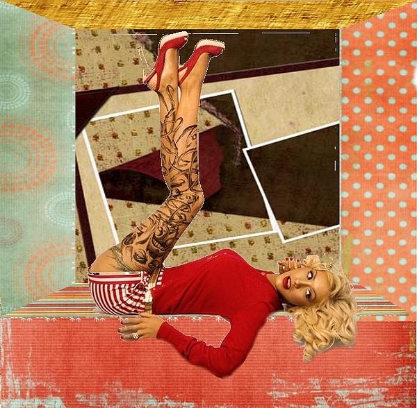 Lady In Red Digital Art by Gyorgy Szilagyi