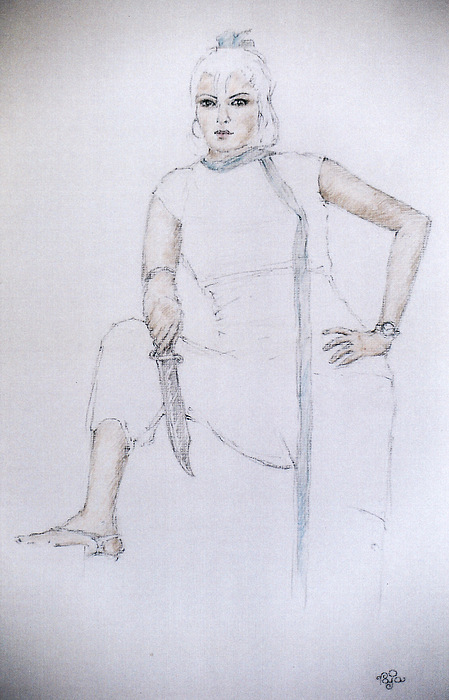 Model Pastel - Lady Jagga by Mohd Raza-ul Karim