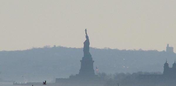 Statue Of Liberty Photograph - Lady Liberty A by Hasani Blue