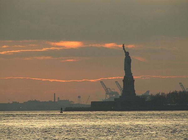 Statue Of Liberty Photograph - Lady Liberty by Vanda Sucheston Hughes