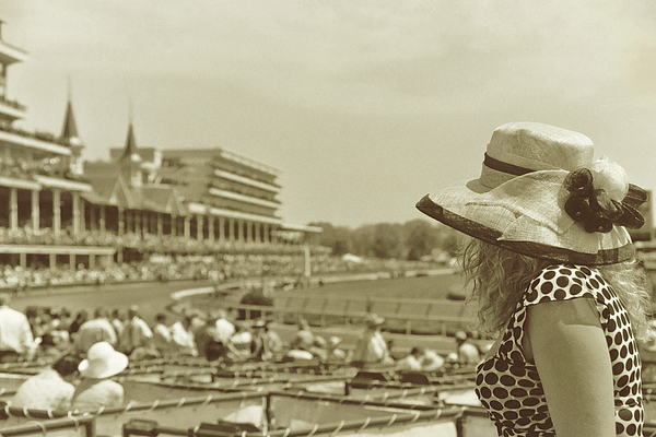 Churchill Photograph - Lady Of The Derby by JAMART Photography