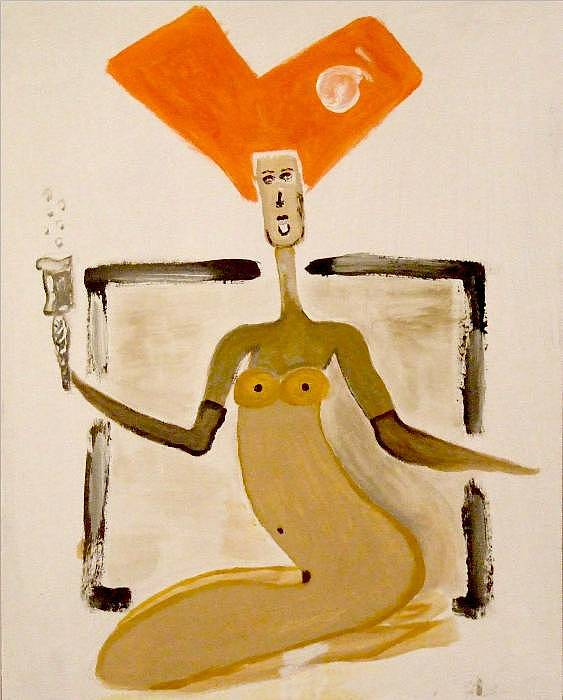 Lady With A Glass Of Champagne Painting by Sveta Sveta