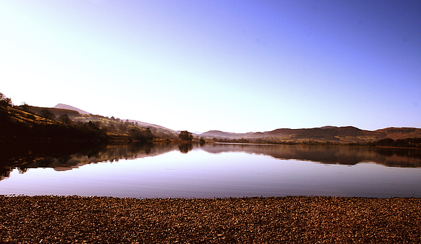 Peace Photograph - Lake Bala by Stephen Walton