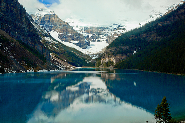 Canadian Rockies Photograph - Lake Louise 1783  by Larry Roberson
