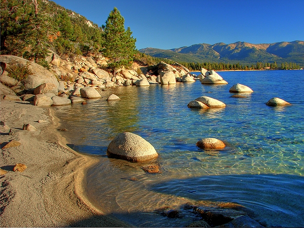 Lake Tahoe Photograph - Lake Tahoe Tranquility by Scott McGuire