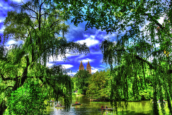 Manhattan Photograph - Lakeboat In Central Park Too by Randy Aveille