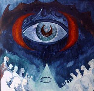 Sanat Painting - Lament by Oguzhan  Coruh
