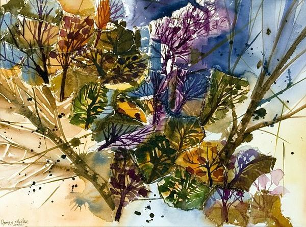 Landscape 2 Painting by Osman Kilciler