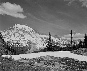 Landscape Photograph - Lane Denman Saddle by Paul Schaufler