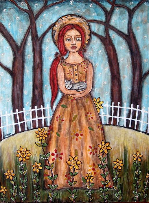 Portrait Painting Painting - Laney by Rain Ririn