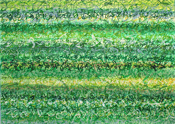 Grass Painting - Language Of Grass by Jason Messinger