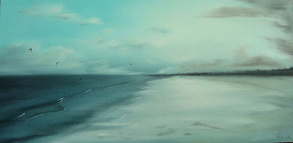 Last Of The Wind Painting by Tracey-anne Pryke