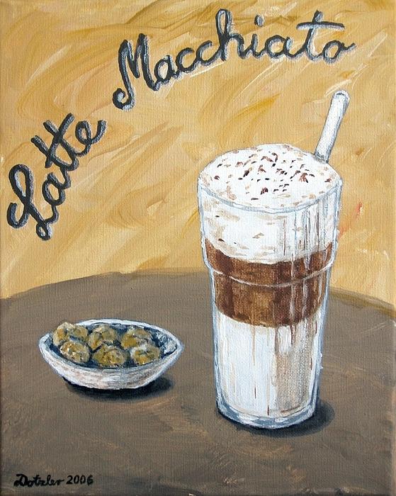 Rezultat iskanja slik za latte macchiato paint