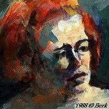 Portrait Painting - Laura by Chuck Berk