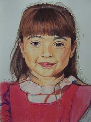 Portrait Drawing - Laura by Sherri Ward