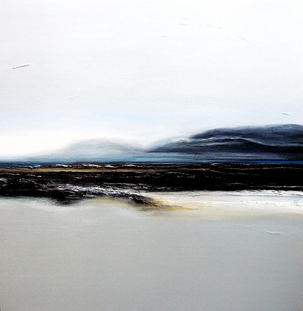 Oceanscape Painting - Lavender Mist by Christine Deckert