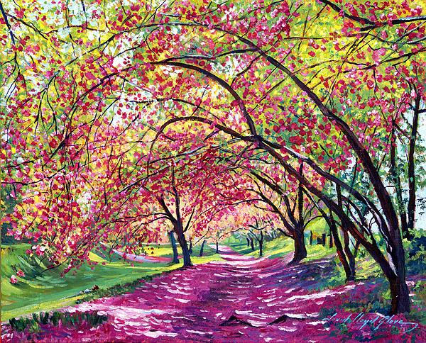 Central Park Painting - Lazy On A Sunday Central Park by David Lloyd Glover