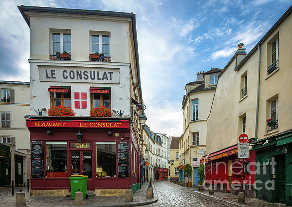Europa Photograph - Le Consulat by Inge Johnsson