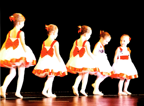 Ballet Photograph - Le Petite Ballet by Margie Avellino