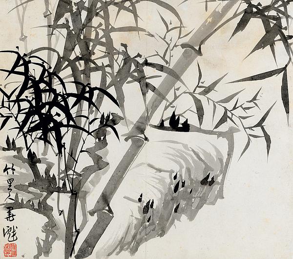 Leaf Painting - Leaf C by Rang Tian
