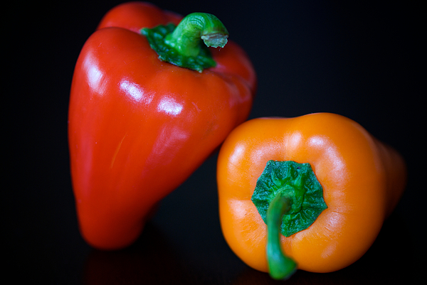 Peppers Photograph - Lean On Me by Lisa Knechtel