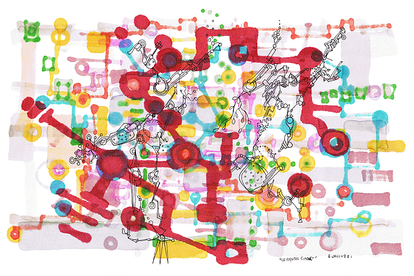 Learning Drawing - Learning Circuit by Regina Valluzzi