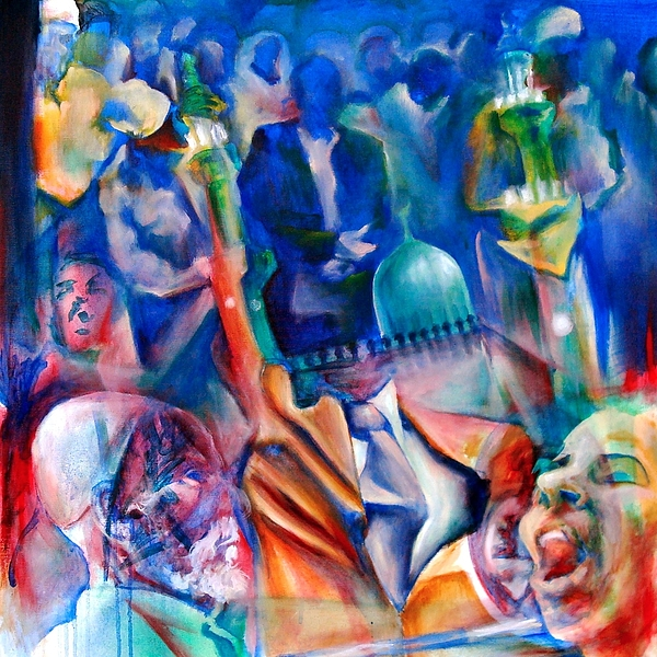 Arab Painting - Legacies Of Resistance by Khalid Hussein
