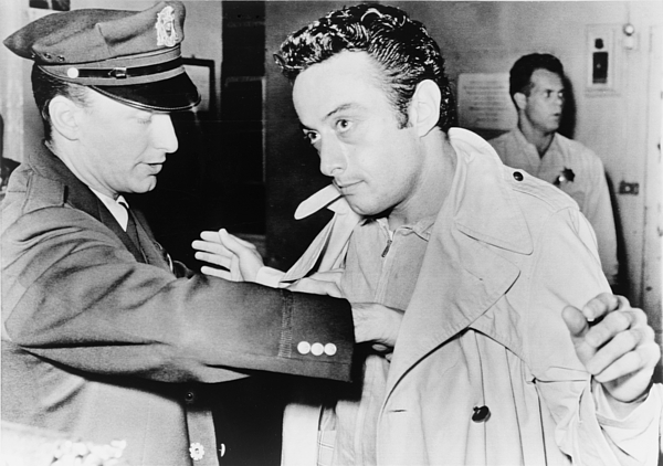 1960s Photograph - Lenny Bruce 1925-1966, Being Searched by Everett