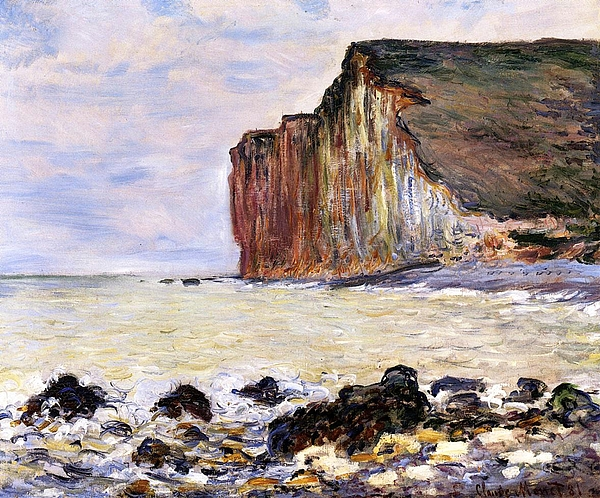 French Painting - Les Petites Dalles by Claude Monet