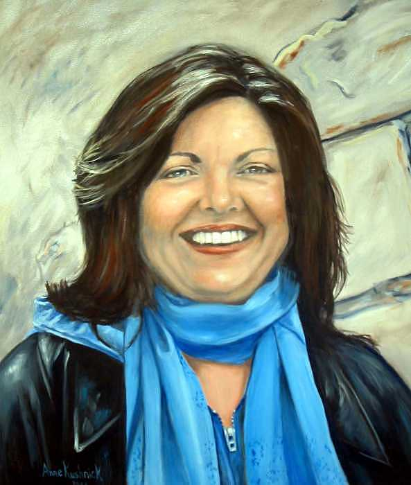 Leslie Eliason Painting by Anne Kushnick
