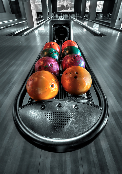 Bowl Photograph - Let The Good Times Roll by Evelina Kremsdorf